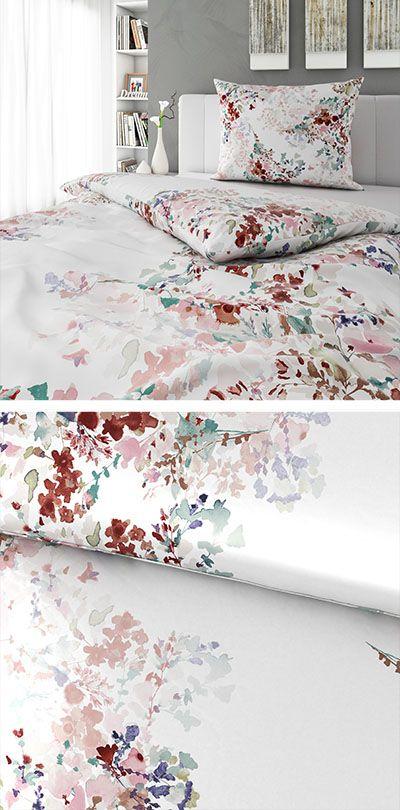 Bettwasche Multicolor Mit Floralem Design 140x200 Bettwasche Bett Wasche
