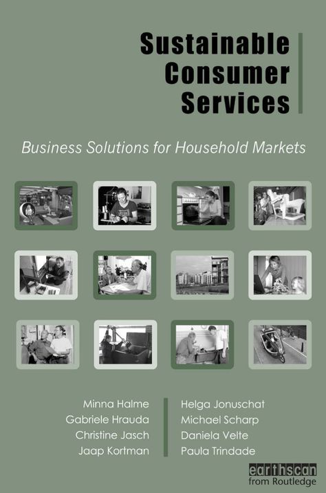 Sustainable Consumer Services (eBook)