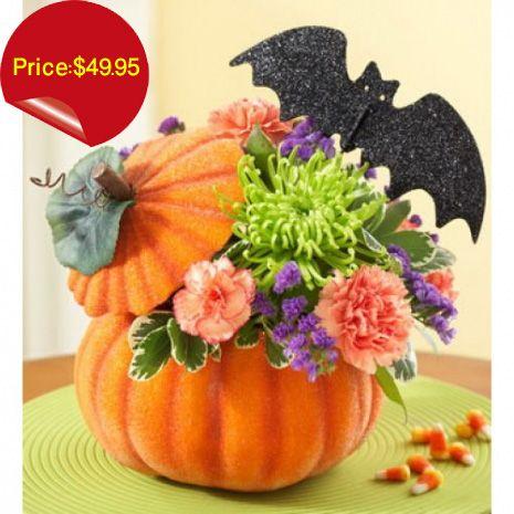 Pampanga Halloween 2020 Pumpkin Flower Arrangement in 2020 | Halloween flower arrangements