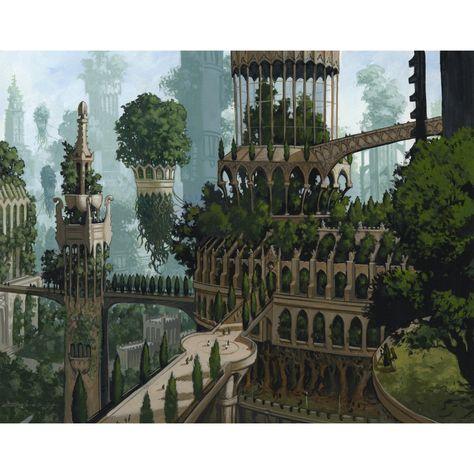 Forest (Ravnica) Print