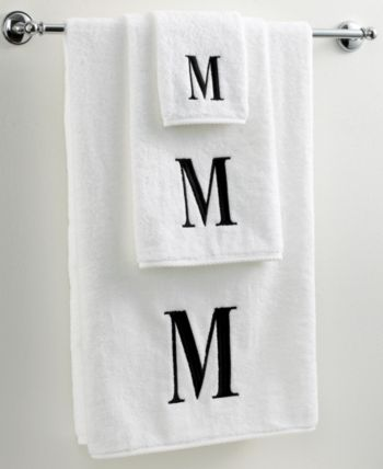 Avanti Bath Towels Black And White 27 X 52 Bath Towel Bedding In