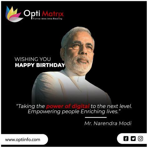 Wishing you Happy Birthday Shri Narendra Modi  #NarendraModiBirthday #Modibirthday #PMModi #HappyBirthdayPM #digitalindia #digitalworld #digitalmedia
