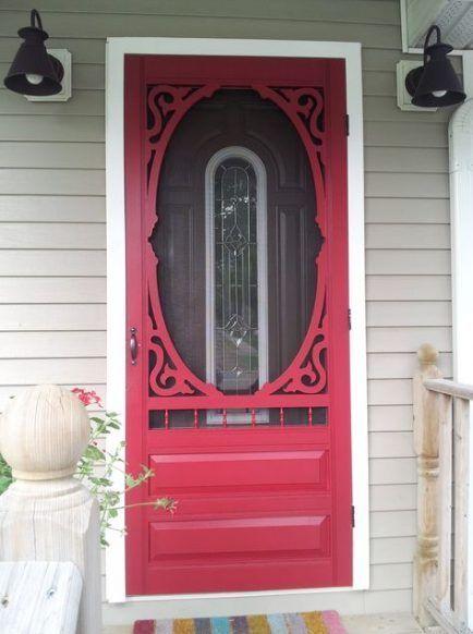 Door Screen 28 Trendy Red 28 Trendy Red Screen Door Entrance Vintage Screen Doors Old Screen Doors Screen Door