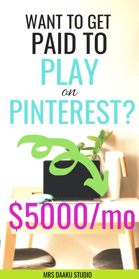 How to make money online and work from home with Pinterest: Become a Pinterest VA