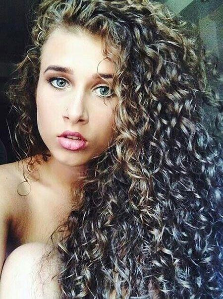 Natural Curly Perm Hair White Girl Hair Styles Hair Long Hair Styles
