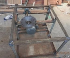 Table Saw Homemade Table Saw Constructed From Angle Iron Pillow