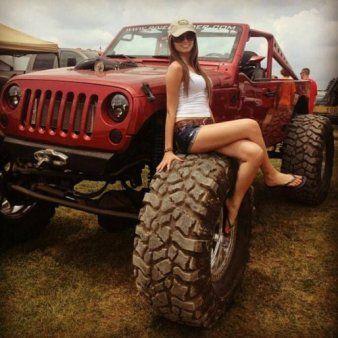 Star Schmutzige Jeep Girls machen Muschi Dickes nacktes
