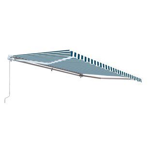 Palram Feria 28 Ft W X 13 Ft D Plastic Standard Patio Awning Wayfair Patio Awning Custom Awnings Patio