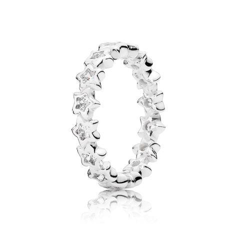 anello stella cadente pandora