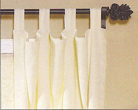 Tab Top Curtains cool site has DIY plans for lots of curtain