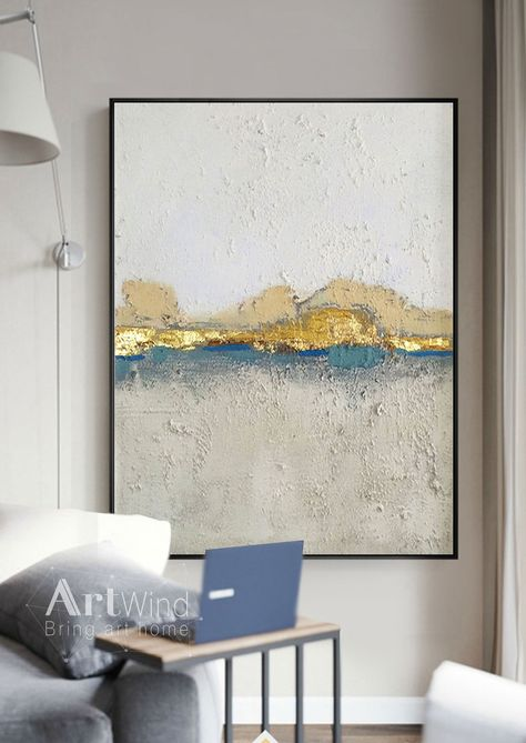 Global GalleryAvery Tillmon Open Arms Gold Giclee Stretched Canvas Artwork 24 x 16