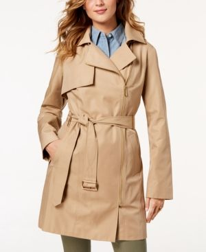 terrific value 2020 world-wide selection of Belted Asymmetrical Trench Coat   Products   Classic trench ...