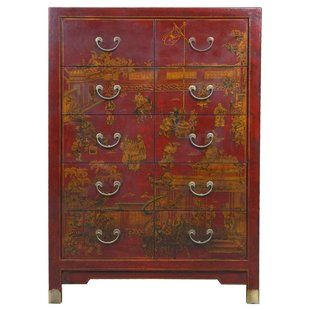 Affordable Quality Yanse 10 Drawer Dresser By Exp Decor With Images Chinese Furniture Traditional Dressers Dresser