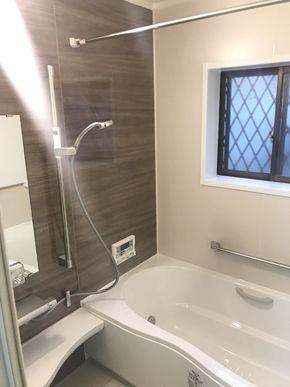 築30年のタイル張り在来浴室からシステムバスに大変身しました 姫路市 m様邸 浴室工事 費用 100万円 工期 6日 リフォーム タイル張り