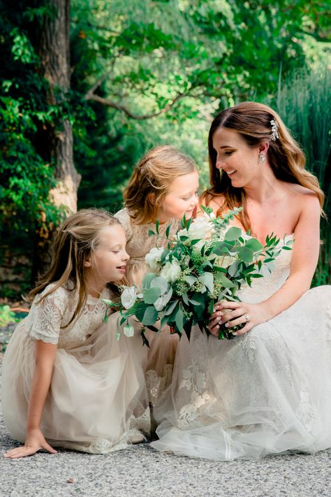 | Photo: Enchanted Celebrations | Florist: Wild and Free Floral Design | NJ Wedding Venue: Rock Island Lake Club