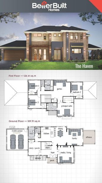 Land And Houses 2 Storey House Design Double Storey House Plans Double Storey House