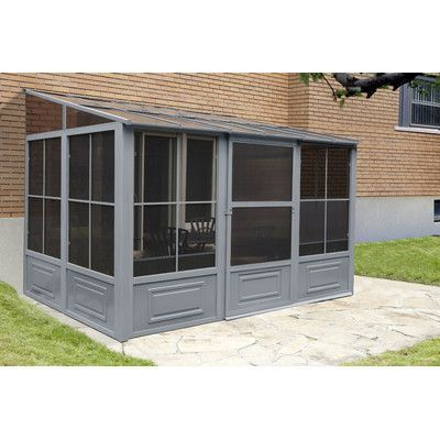 Gazebo Penguin Four Season Add A Room 16 Ft W X 1 In 2020 Terrassen Gartenlaube Terassenideen Pavillon Ideen