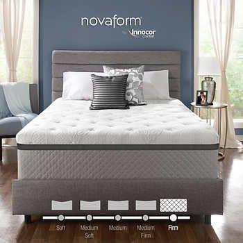 Novaform 14 Serafina Pearl Queen Firm Gel Memory Foam Mattress