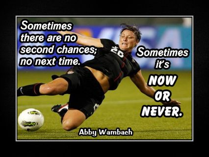Girls Soccer Motivation Poster, Coaching Wall Decor, Daughter Wall Art featuring Abby Wambach and a compelling message. It's an inspiring, lasting gift for any aspiring soccer player. It will certainly motivate and encourage. Soccer Player Quotes, Soccer Memes, Soccer Players, Soccer Cleats, Soccer Sayings, Football Quotes, Basketball, Soccer Sports, Nike Soccer