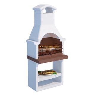 Tavolo Da Giardino Con Barbecue.Tavolo Da Giardino Allungabile Con Piano In Legno L 170 X P 100 Cm