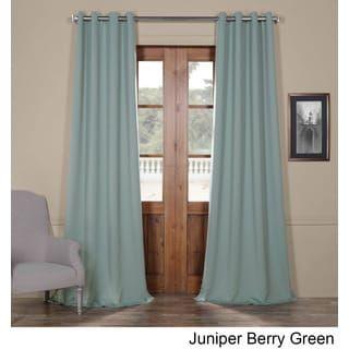 Shop for Exclusive Fabrics Grommet Blackout Curtain  Get free