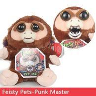 Funny Monkey Plush Punk Master Fingersmonkeysshop Toy Monkey