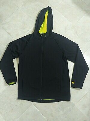 New Russell Thermaforce Max Men/'s Zip Front Jacket with Hood
