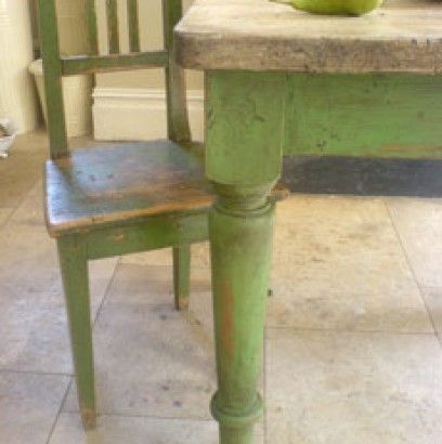 Loving this green. Inspiration Galleries | Annie Sloan Unfolded ...