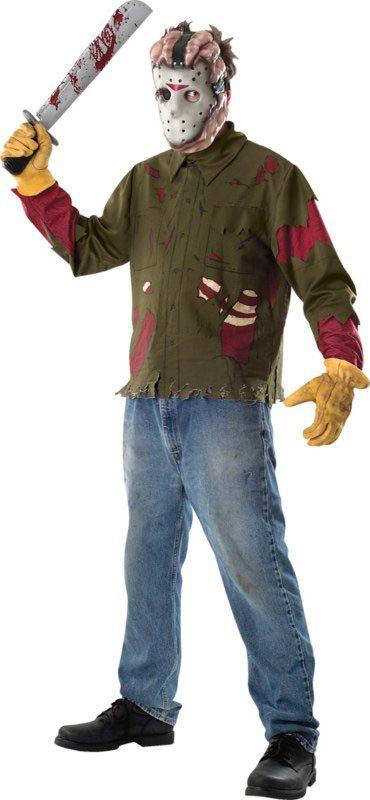 Disfraz De Jason De Viernes 13 Para Hombre Disfraces Adultos Y Disfraces Originales Baratos Vegaoo Disfraces De Halloween Para Hombres Disfraces Para Adultos Jason Viernes 13