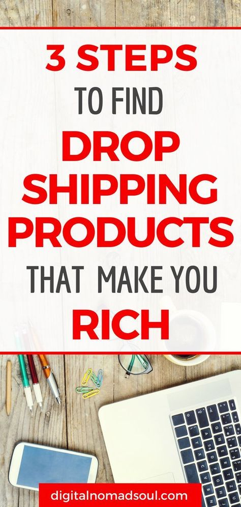 How to Find Profitable Dropshipping Products to Sell Online - Digital Nomad Soul