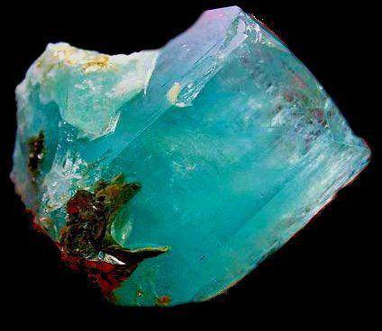Natural Aquamarine Gemstone | Rocks and minerals, Crystals minerals, Stones  and crystals