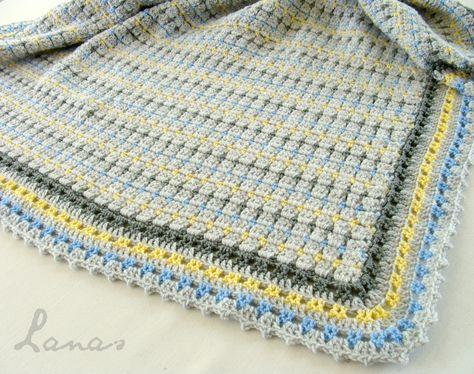 Lanas de Ana: Mosaic Blanket