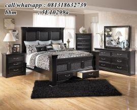 Pin Di Set Tempat Tidur Bedroom set queen black