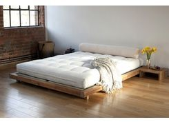 Low Wooden Contemporary Bed In Solid Acacia Futon Company Minimalist Bed Low Bed Frame Futon Bed Frames