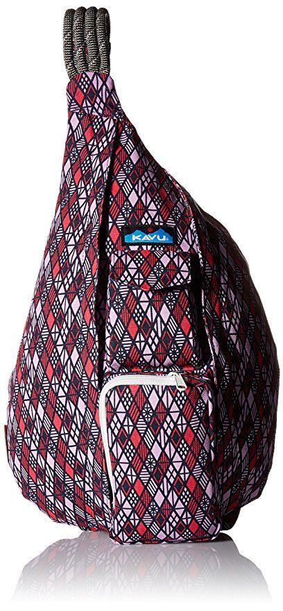 Diamonds KAVU Rope Bag Shoulder Sling Cotton Crossbody Backpack