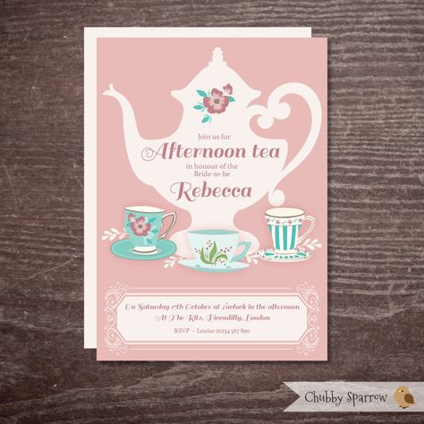 bridal shower invitation hen party bachelorette afternoon tea alice in wonderland party