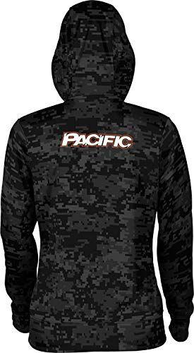 Prime School Spirit Sweatshirt University of The Pacific Girls Zipper Hoodie