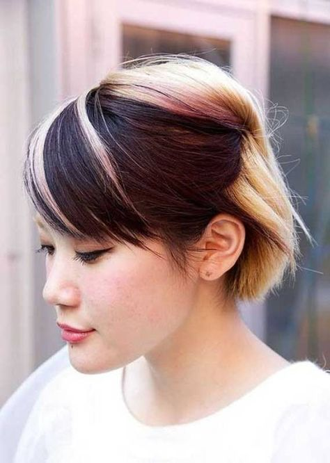 80+ Marvelous Color Ideas for Women with Short Hair in 2018 - Pouted Magazine