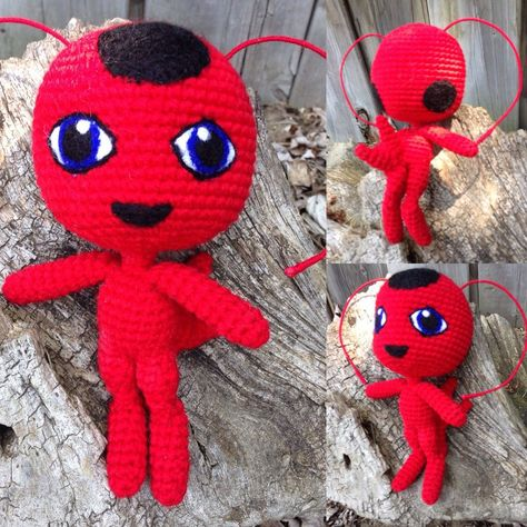 Marinette Miraculous Ladybug Amigurumi Crochet Doll Handmade ...   474x474