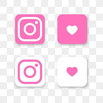 Instagram Pink Icon Background Instagram Pink Icon Background Png And Vector With Transparent Background For Free Download In 2021 Logo Design Free Templates Cute Pink Background Instagram Logo
