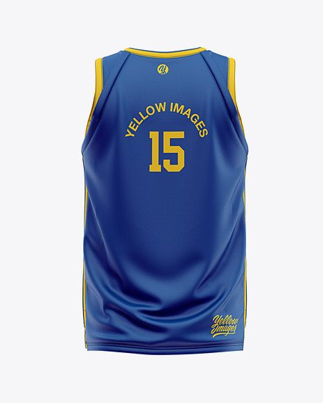 Download Men S Basketball Jersey Mockup Back View In Apparel Mockups On Yellow Images Object Mockups Shirt Mockup Clothing Mockup Design Mockup Free