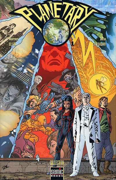 Planetary By Warren Ellis And John Cassiday Is One Of The Top Series Of The 1990 S And A Personal Favorite Comics Graphic Novel Comic Book Covers