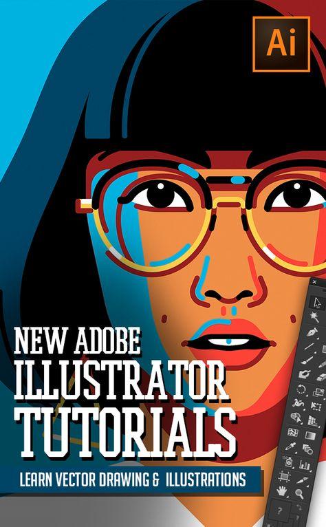 Illustrator Tutorials: 30 New Adobe Illustrator Tuts Learn Drawing and Illustration | Tutorials | Graphic Design Junction