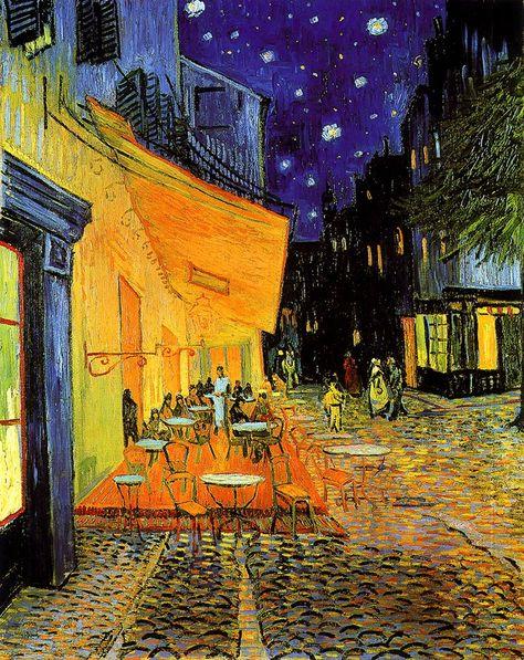 V Van Gogh Terrazza Del Caffè La Sera Place Du Forum