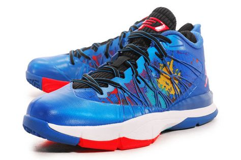 brand new e4723 8f90a NEW NIKE JORDAN CP3.VII AE Blue Infrared 23 Womens 8 (6.5Y) retro iii x NR   NikeJordan  Athletic