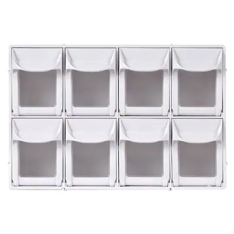 Desktop Parts Plastic Organizer Tool Craft Boxes for DIY Hobby Home Garage and Shed A9-2110 livinbox 13 Multi Drawer Storage Cabinet Organiser White