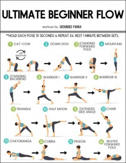 Poses De Yoga Pour La Flexibilite Des Debutants Poses De Yoga Pour Les Maux De Dos Poses De Yoga Pour Yoga Routine For Beginners Yoga Routine 20 Minute Yoga