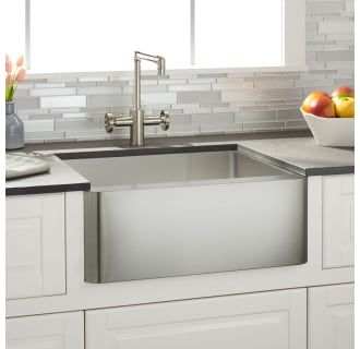 Signature Hardware 938342 24 Stainless Steel Farmhouse Sink
