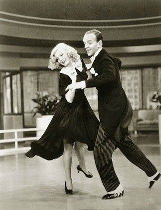 """""""remember, ginger rogers did everything fred astaire did, but backwards and in high heels."""""""