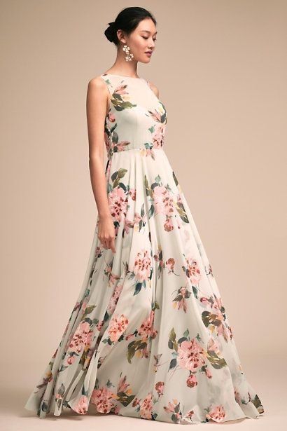 Spring It Colors For 2018 Featuring Dresses By Bhldn The Perfect Palette Weddinggown Weddingdress Br Liz Dress Bhldn Bridesmaid Dresses Bhldn Bridesmaid